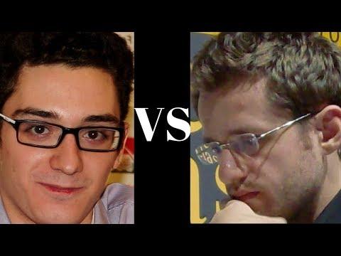 World Chess Championship Candidates (2018): Fabiano Caruana vs Levon Aronian rd 13:  Spanish Game