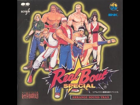 Real Bout Fatal Fury Special Arrange sound Track