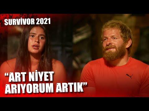 İSMAİL-AYŞE ARASINDA KİLO TARTIŞMASI!   Survivor 2021