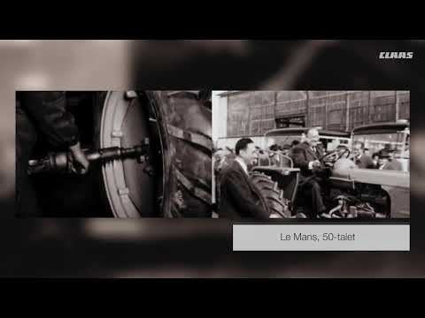 Nedräkning till nyöppning av CLAAS traktorfabrik i Le Mans – video 2/12