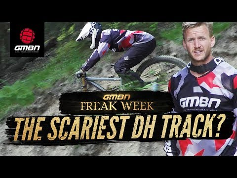 Is This The Scariest Mountain Bike Race Track"