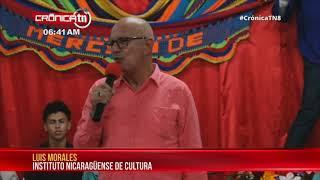 INC reconoce aporte cultural del maestro Bosco Canales en Masaya - Nicaragua