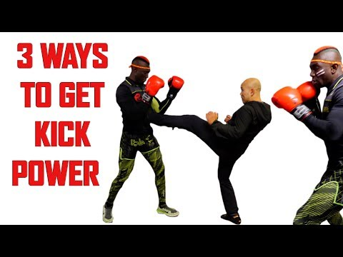 3 Ways to get Kick Power | Kickboxing Self Defence