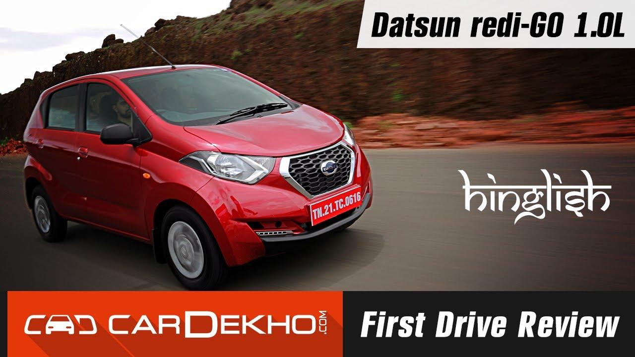 Datsun redi-Go 1.0L Review in Hinglish