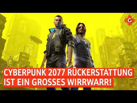 Cyberpunk 2077: Probleme mit der Rückerstattung! Fortnite: Neues Performance-Update! | GW-NEWS