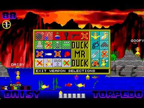 Duck Mr Duck (Patrik Karlsson & Dan-Anders Stromberg) (MS-DOS) [1998]