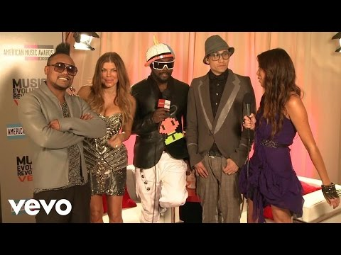 connectYoutube - The Black Eyed Peas - 2010 Backstage Interview (American Music Awards)