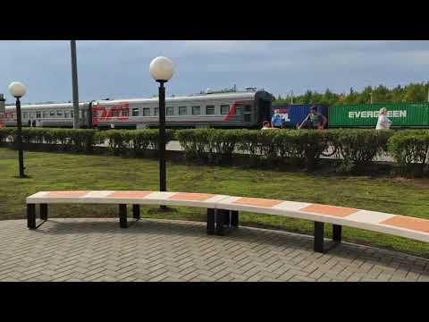 Сквер обновили у вокзала в Сыктывкаре