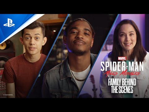 Marvel's Spider-Man: Miles Morales – Family Behind the Scenes   PS5, PS4