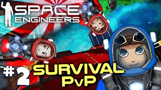 Space Engineers PVP Ep2: The Red Fleet