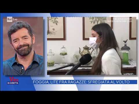 Sfregio - La Vita in Diretta 27/11/2020
