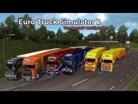 Euro Truck Simulator 2 - TruckersMP (Livestream 22/11/2018)
