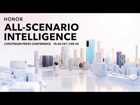 HONOR All-Scenario Intelligence Press Conference