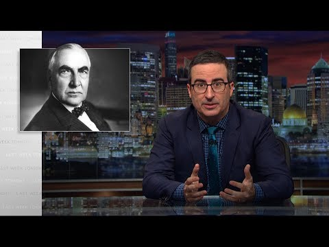 connectYoutube - Harding: Last Week Tonight with John Oliver (HBO)
