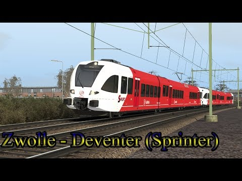 Extra Sprinter Deventer  Train Simulator 2018