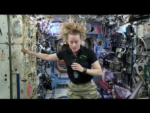Space Station Crew Member Discusses Life in Space…