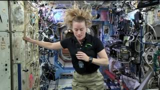 Space Station Crew Member Discusses Life in Space with NBC's