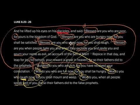 Luke 6:20–26 // The Kind of People God Blesses