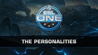 Dota 2 ESL New York 2014 - The Personalities