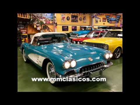 MM CLÁSICOS CHEVROLET CORVETTE 1ST GENERATION 1960