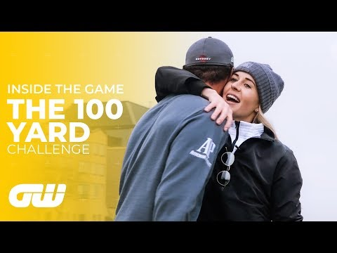 The 100 Yard Challenge: Pitching With Drivers!   Golfing World