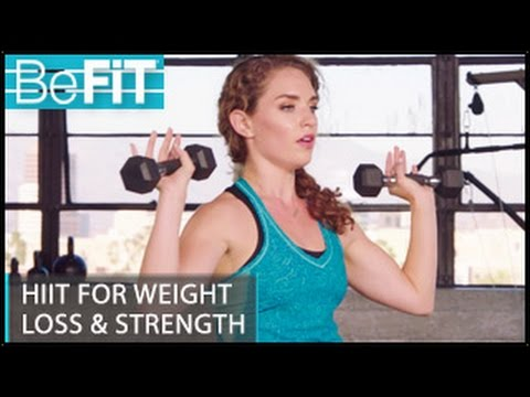 HIIT Workout for Weight Loss & Strength: Kara Griffin