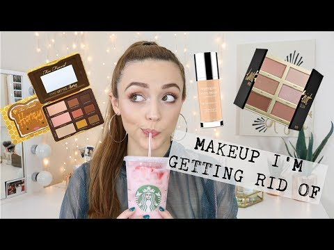MAKEUP DECLUTTER | Things I Just DONT USE anymore....
