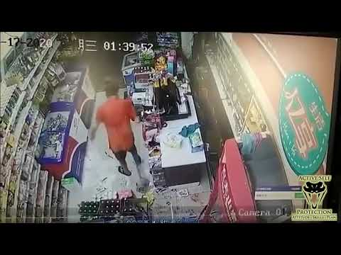 Clerk With Attitude Absolutely Dazes Attacker