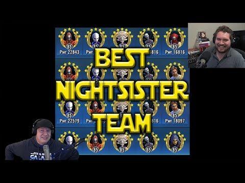connectYoutube - Best Nightsister Team   Star Wars: Galaxy Of Heroes - SWGoH