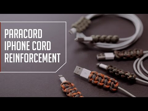 Paracord Iphone Cord Reinforcement