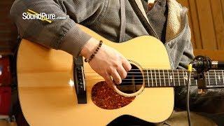 Huss & Dalton OM Custom Red Spruce IRW Acoustic #986-Used—Quick 'n' Dirty