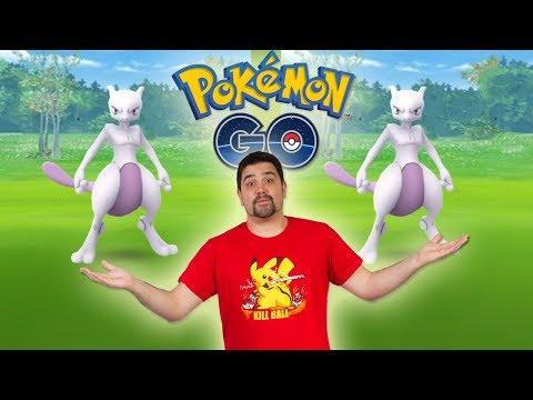 ¡DOBLE MEWTWO en Pokémon GO! ¿¡Saldrá al fin uno bueno!? [Keibron]