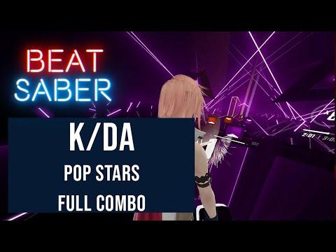 Click to view video K/DA - Pop Stars - Beat Saber Expert full combo