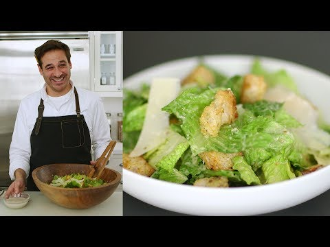 Homemade Caesar Salad Dressing - Kitchen Conundrums with Thomas Joseph