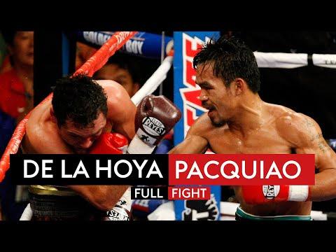 The fight that made Manny Pacquiao a superstar! ⭐ | De La Hoya vs Pacquiao | FIGHT REWIND