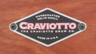 Craviotto 6.5x14 Cherry Custom Snare Drum, Black Burst Quick n' Dirty
