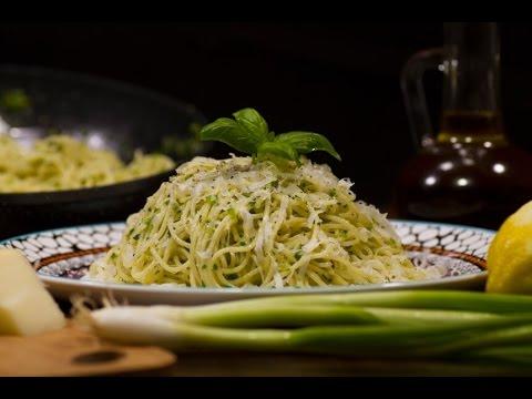 Špageti s limunom i parmezanom - Fini Recepti by Crochef