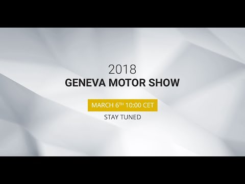 Lamborghini Geneva International Motor Show live stream