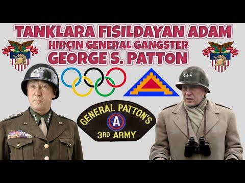 TANKLARA FISILDAYAN ADAM HIRÇIN GENERAL GANGSTER GEORGE PATTON 2. dünya savaşı tarihi