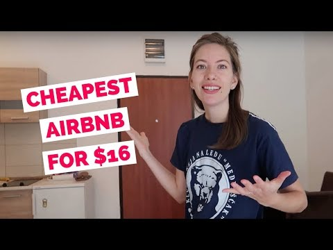 Our Cheapest Airbnb Apartment in Europe for $16 a night in Budva, Montenegro + Airbnb Booking Tips