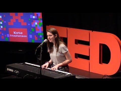 Say Something: Musical Performance at TEDxLFHS | Kate Stephenson | TEDxLFHS