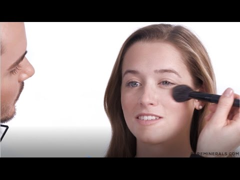 bareMinerals Invisible Bronze + Glow Tutorial with David Thibodeau