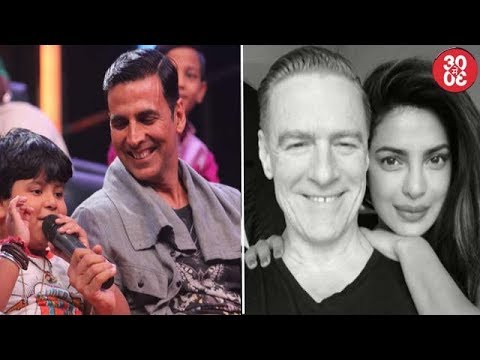 Akshay Promotes 'Toilet' On A Reality Show | Priyanka's Photo With Bryan Adams Goes Viral