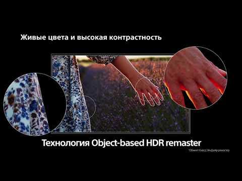 Серия Sony BRAVIA XH90: телевизор, потрясающий воображение
