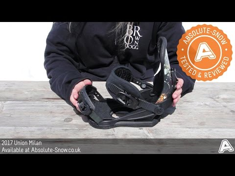 2016 / 2017 | Union Milan Snowboard Bindings | Video Review