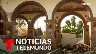 El terremoto en Puerto Rico destruye histórica iglesia construida en 1841   Noticias Telemundo