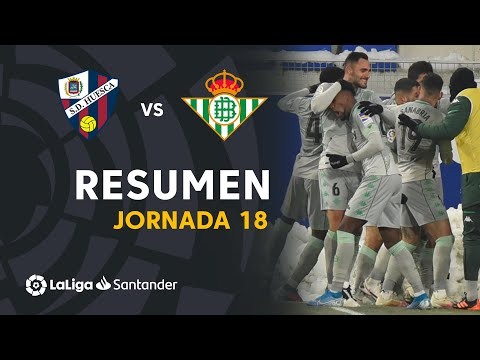Resumen de SD Huesca vs Real Betis (0-2)