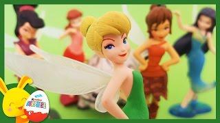 Les fées Disney - Clochette - Jouets pour enfants - Unboxing fairies