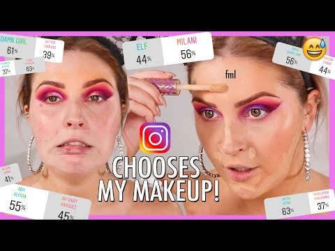 Instagram Followers PICK MY MAKEUP! ? this was so stressful