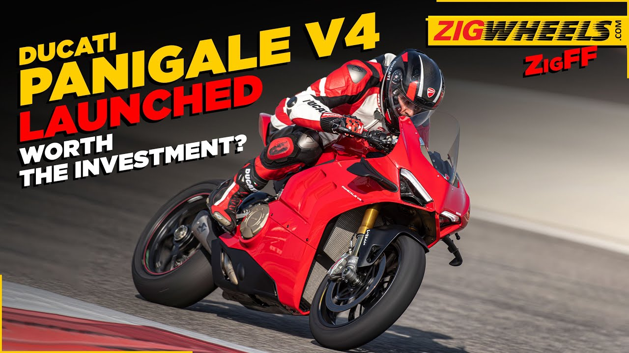 Ducati Panigale V4 Launched In India - Specifications, Features, Price & More | ZigFF